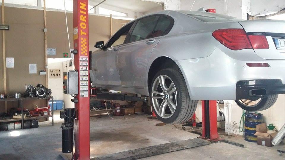 BMW 730d váltóolaj cseréje