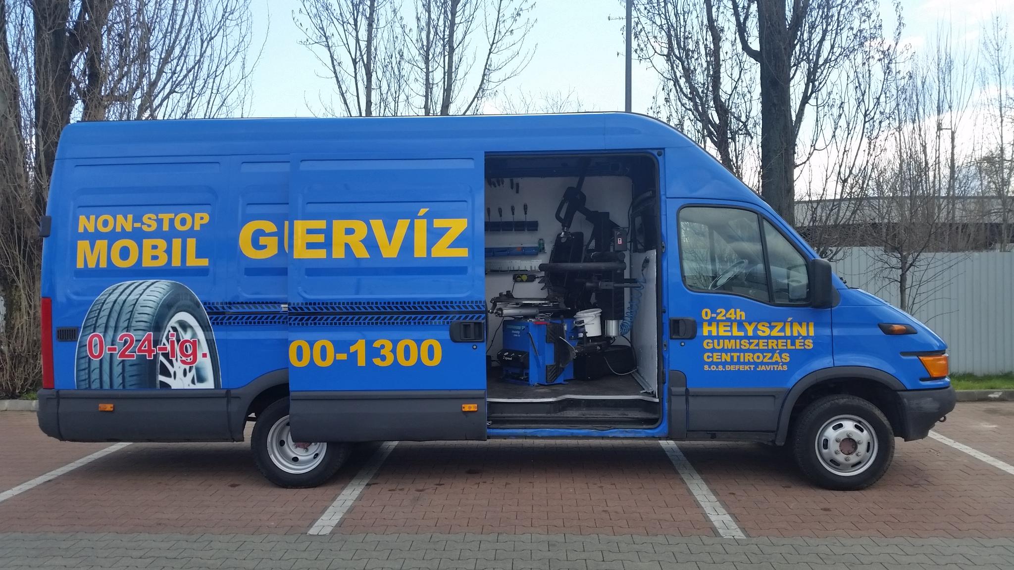 Non-Stop Mobil Gumiszerviz Szekesfehervar